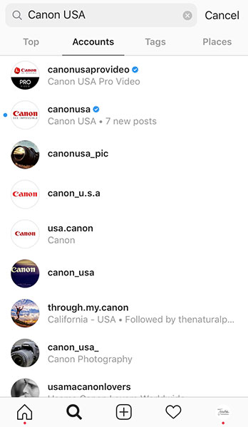 instagram hashtag camera brands